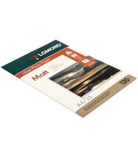 Бумага для струйной фотопечати матовая односторонняя Lomond А4 (210*297 мм), 120 г/м2, 25 л., односторонняя
