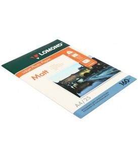 Бумага для струйной фотопечати матовая односторонняя Lomond А4 (210*297 мм), 160 г/м2, 25 л., односторонняя