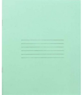 Тетрадь школьная А5, 12 л. на скобе «Добруш «Герой труда» 170*205 мм, крупная клетка, зеленая
