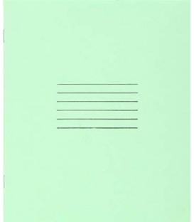 Тетрадь школьная А5, 12 л. на скобе «Гознак Борисов» 170*205 мм, крупная клетка, светло-зеленая