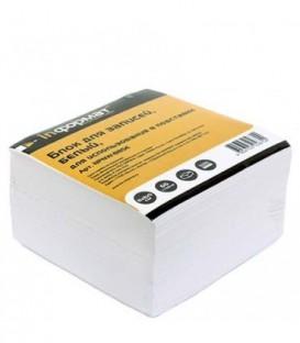 Блок бумаги для заметок «Куб» 80*80*50 мм, непроклееный, белый