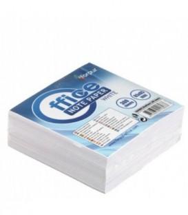 Блок бумаги для заметок «Куб» 85*85*30 мм, непроклеенный, белый
