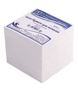 Блок бумаги для заметок «Куб» 90*90*85 мм, непроклеенный, белый