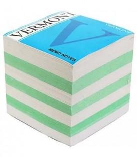 Блок бумаги для заметок Vermont 90*90*90 мм, непроклеенный, 2 цвета