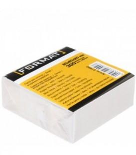 Блок бумаги для заметок «Куб» 80*80*30 мм, непроклеенный, серый
