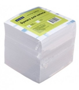 Блок бумаги для заметок «Куб» 90*90*90 мм, непроклеенный, белый