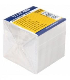 Блок бумаги для заметок «Куб» 90*90*85 мм, непроклеенный, серый