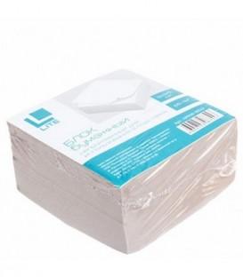 Блок бумаги для заметок «Куб» 90*90*50 мм, непроклеенный, серый