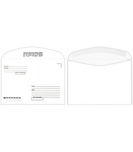 Конверт почтовый 162*229 мм (С5) декстрин, с подсказкой «Кому-куда»