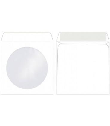 Конверт для CD 125*125 мм окно/клапан, силикон