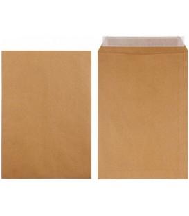 Конверт-пакет почтовый 229*324 мм, силикон, чистый, крафт