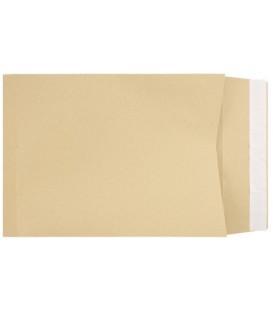 Конверт-пакет почтовый 250*353*40 мм, силикон, чистый, с расширенным дном