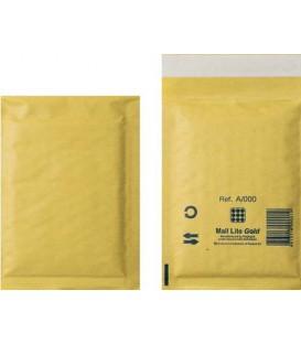 Конверт-пакет защитный пузырьковый Mail Lite Gold А/000, 110*160 мм