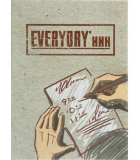 'Ежедневник недатированный «Проф-пресс» 145*200 мм, 80 л., «EVERYDAY''ник» '