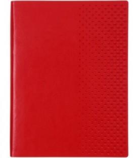Ежедневник недатированный «Сариф» 130*170 мм, 160 л., красный