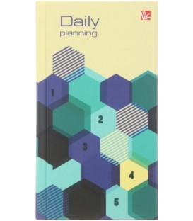 Ежедневник недатированный «Офисный стиль» 95*170 мм, 128 л., «Концепция»