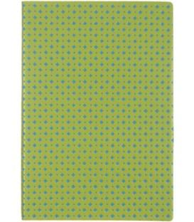 Ежедневник недатированный «Сариф» 145*205 мм, 120 л., салатово-синий