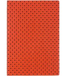 Ежедневник недатированный «Сариф» 145*205 мм, 120 л., оранжево-черный