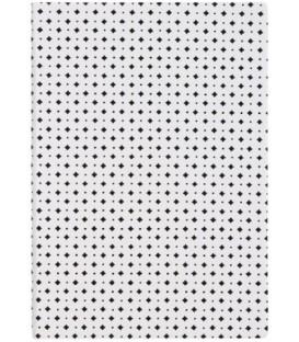 Ежедневник недатированный «Сариф» 145*205 мм, 120 л., бело-черный