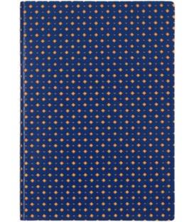 Ежедневник недатированный «Сариф» 145*205 мм, 120 л., сине-оранжевый