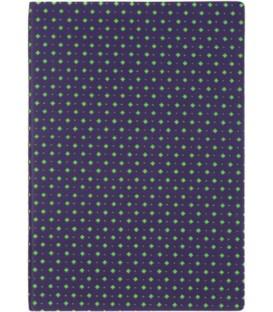 Ежедневник недатированный «Сариф» 145*205 мм, 120 л., фиолетово-зеленый