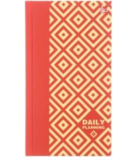 Ежедневник недатированный «Орнамент» 95*170 мм, 128 л., «Яркие ромбы»