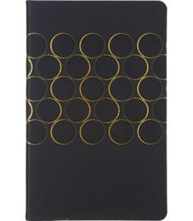 Ежедневник недатированный «Софт-тач» 135*210 мм, 96 л., черный