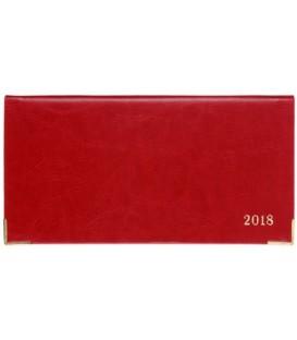 Еженедельник датированный на 2018 год «Сариф» 170*88 мм, 64 л., красный