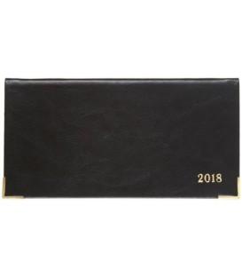 Еженедельник датированный на 2018 год «Сариф» 170*88 мм, 64 л., черный