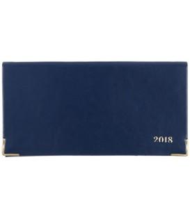 Еженедельник датированный на 2018 год «Сариф» 170*88 мм, 64 л., синий