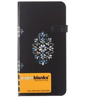 Книжка записная Paperblanks Precious Gems 90*180 мм, 88 л., линия, «Зеркальное сокровище»