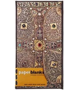 Книжка записная Paperblanks Lindau 95*180 мм, 88 л., линия, «Евангелие из Линдау»