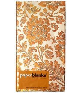 Книжка записная Paperblanks Brocaded Paper 95*180 мм, 88 л., линия, Honey Bloom «Медовые цветы»