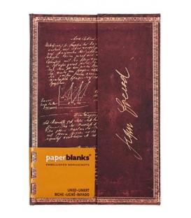 Книжка записная Paperblanks Embellished Manuscripts 95*140 мм, 88 л., линия, «Архитектура истерии»