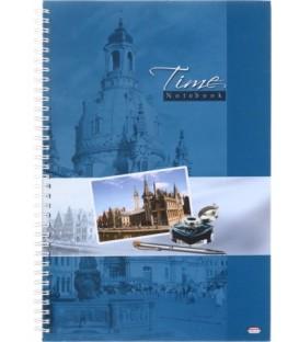 Книжка записная «Проф-пресс» 205*300 мм, 100 л., клетка, «Офисный стиль-2»