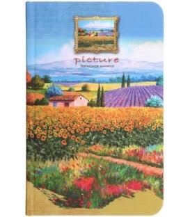 Книжка записная «Проф-пресс.Collezione» 90*140 мм, 80 л., клетка, «Яркий пейзаж»