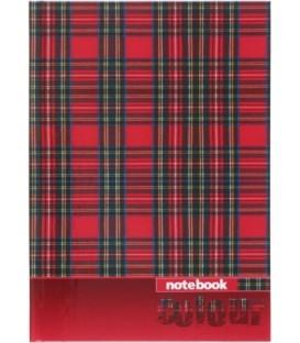 Книжка записная «Проф-пресс» 145*200 мм, 48 л., клетка, «Клетка-шотландка»