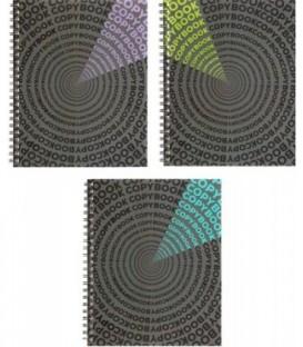 Тетрадь общая А5, 48 л. на гребне «Яркие детали» 162*200 мм, клетка, ассорти