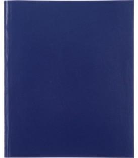 Тетрадь общая А5, 96 л. «Полиграфкомбинат» 165*205 мм, клетка, синяя