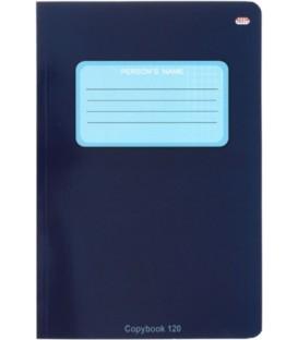 Тетрадь общая В5, 120 л. «Проф-Пресс» 160*240 мм, клетка, «Синяя»