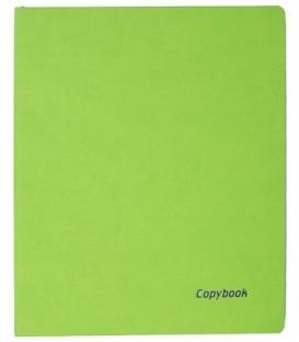 Книжка записная А4, 80 л. «Тетрадь Copybook» 220*265 мм, клетка, салатовая/синяя