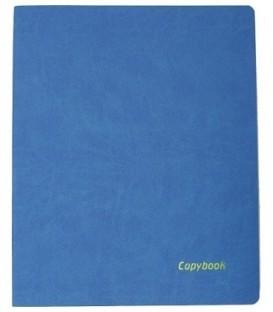 Книжка записная А4, 80 л. «Тетрадь Copybook» 220*265 мм, клетка, синяя/желтая
