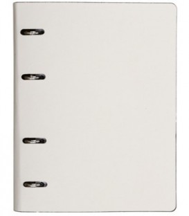 Тетрадь общая А5, 120 л. на кольцах The Notebook 165*215 мм, клетка, «Белый»