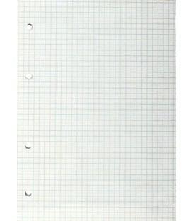 Сменный блок для тетради на кольцах Гознак 80 л., клетка, белая