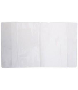 Обложка для тетрадей и дневников А5 (367*215 мм), толщина 120 мкм, прозрачная