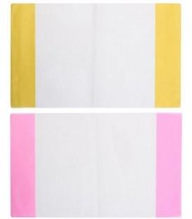 Обложка для тетрадей и дневников А5 (355*215 мм), толщина 120 мкм, ассорти