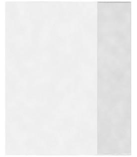 Обложка для тетрадей «Пластупаковка» А5 (350*210 мм), толщина 30 мкм, прозрачная