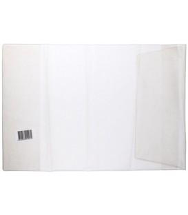 Обложка для учебников универсальная «Красная звезда» А5 (440*223 мм), текстурированная, прозрачная