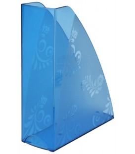 Лоток вертикальный «Русская серия» 290*240*85 мм, прозрачно-голубой