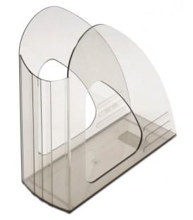 Лоток вертикальный «Юниопт 2000» 240*240*90 мм, прозрачный дымчатый